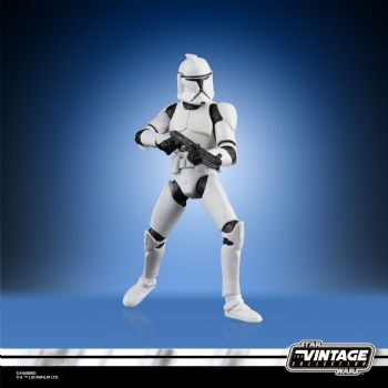 Star Wars The Vintage Collection The Clone Wars Clone Trooper Figure - Pre-Order
